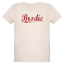 Brodie, Vintage Red T-Shirt