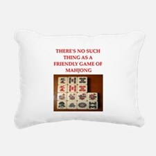 MAHJONG.png Rectangular Canvas Pillow