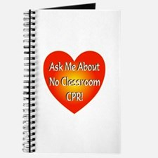 No Classroom CPR Journal