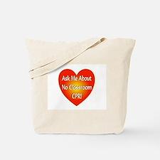 No Classroom CPR Tote Bag