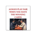 card game Square Sticker 3