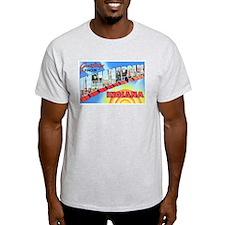 Indianapolis Indiana Greetings T-Shirt