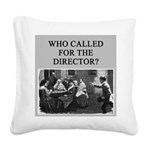 duplicate bridge player gifts Square Canvas Pillow