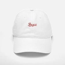 Bryce, Vintage Red Baseball Baseball Cap