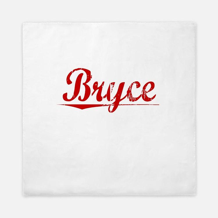 Bryce, Vintage Red Queen Duvet