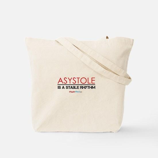 Asystole 3 Tote Bag