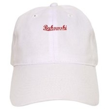 Bukowski, Vintage Red Baseball Cap