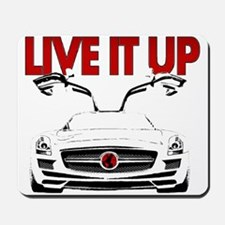 SLS AMG Supercar LIVE IT UP Mousepad