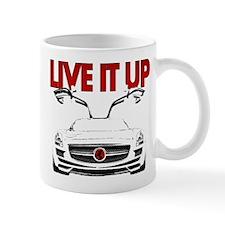 SLS AMG Supercar LIVE IT UP Mug