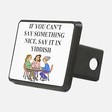 funny jewish joke yiddish proverb Hitch Cover