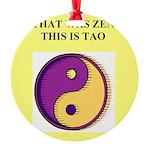 zen buddhism koan satori meditation tao Round Orna