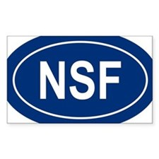 NSF Oval Bumper Stickers