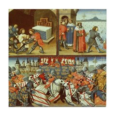 Knights in Battle Ceramic Tile