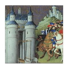 The Duke's Journey Ceramic Tile