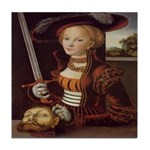 Judith Victorious Ceramic Tile