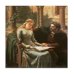 Princess Isolde Ceramic Tile
