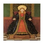 The Child Enthroned Tile