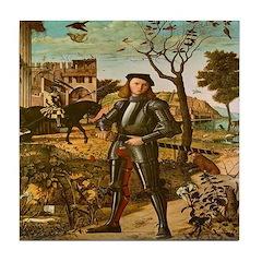 Portrait of a Knight Tile