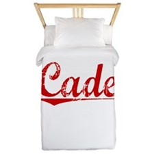 Cade, Vintage Red Twin Duvet