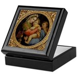 Ornate Madonna Keepsake Box