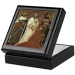 Richard II with Patron Saints Keepsake Box