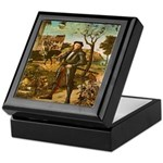 Portrait of a Knight Keepsake Box
