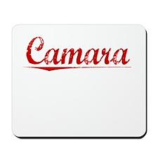 Camara, Vintage Red Mousepad