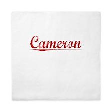 Cameron, Vintage Red Queen Duvet