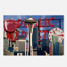 Seattle Icons Postcards (Package of 8)
