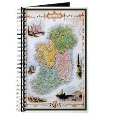 Old Irish Counties Map Journal