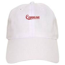 Cannon, Vintage Red Baseball Cap
