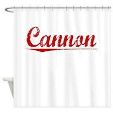 Cannon, Vintage Red Shower Curtain