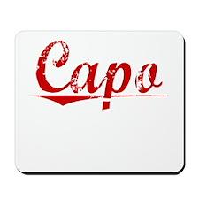Capo, Vintage Red Mousepad