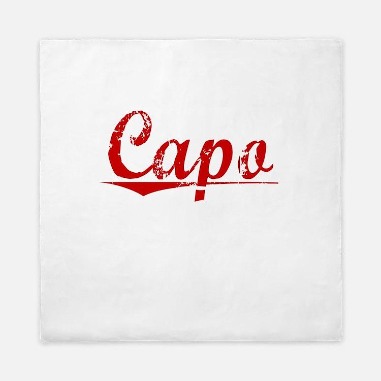 Capo, Vintage Red Queen Duvet