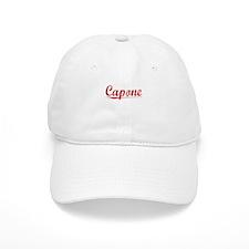 Baseball Capone, Vintage Red Baseball Cap