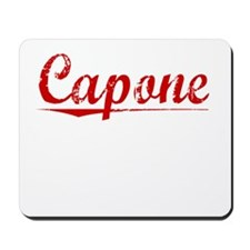 Capone, Vintage Red Mousepad