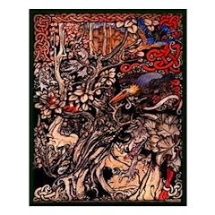 Celtic Fantasy Print