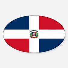 Dominican Republic Flag Decal