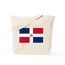 Dominican Republic Flag Tote Bag