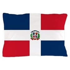 Dominican Republic Flag Pillow Case