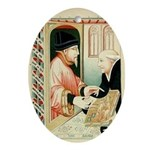 The Bookseller Keepsake (Oval)