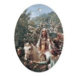 Lady Guinevere Keepsake (Oval)