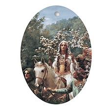 Lady Guinevere Keepsake (Oval)