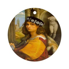 Casanova Ornament (Round)