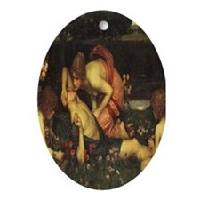 Awakening of Adonis Oval Ornament