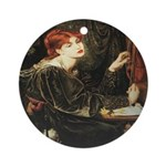 Veronica Veronese Ornament (Round)