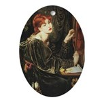 Veronica Veronese Oval Ornament