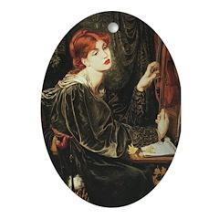 Veronica Veronese Oval Ornament