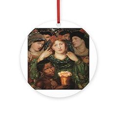 The Beloved Bride Ornament (Round)