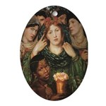 The Beloved Bride Oval Ornament